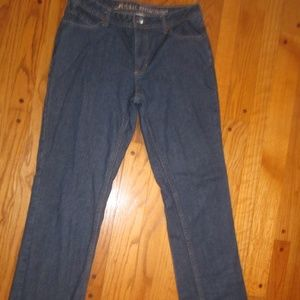 FLANNEL LINED JEANS NATURAL REFLECTIONS WOMENS 6 R